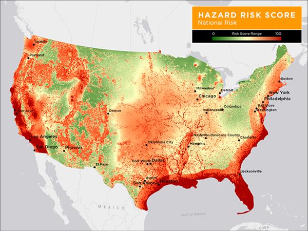Les risques naturels aux USA et où investir dans l'immobilier ?
