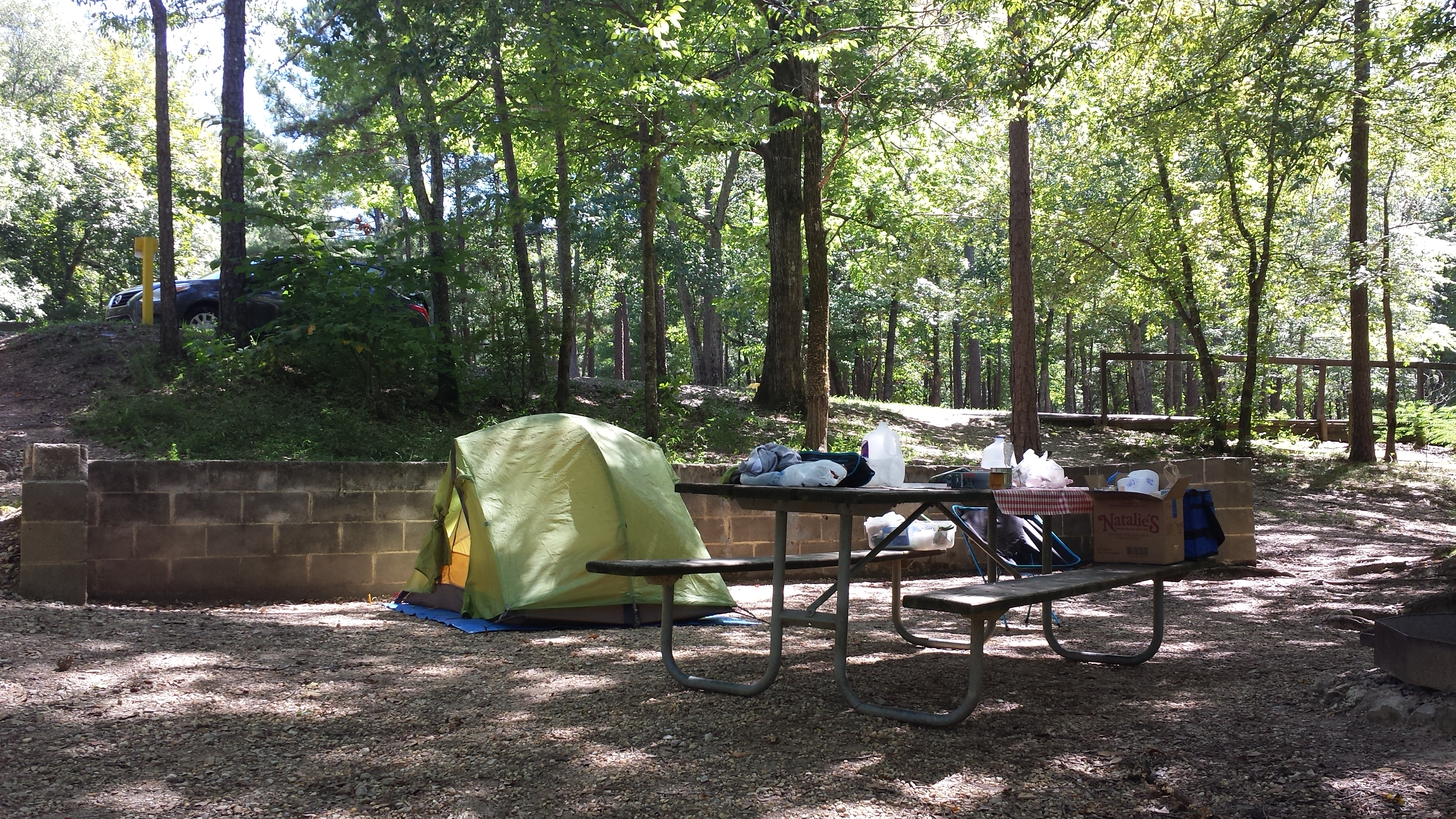 Camping au Tennessee